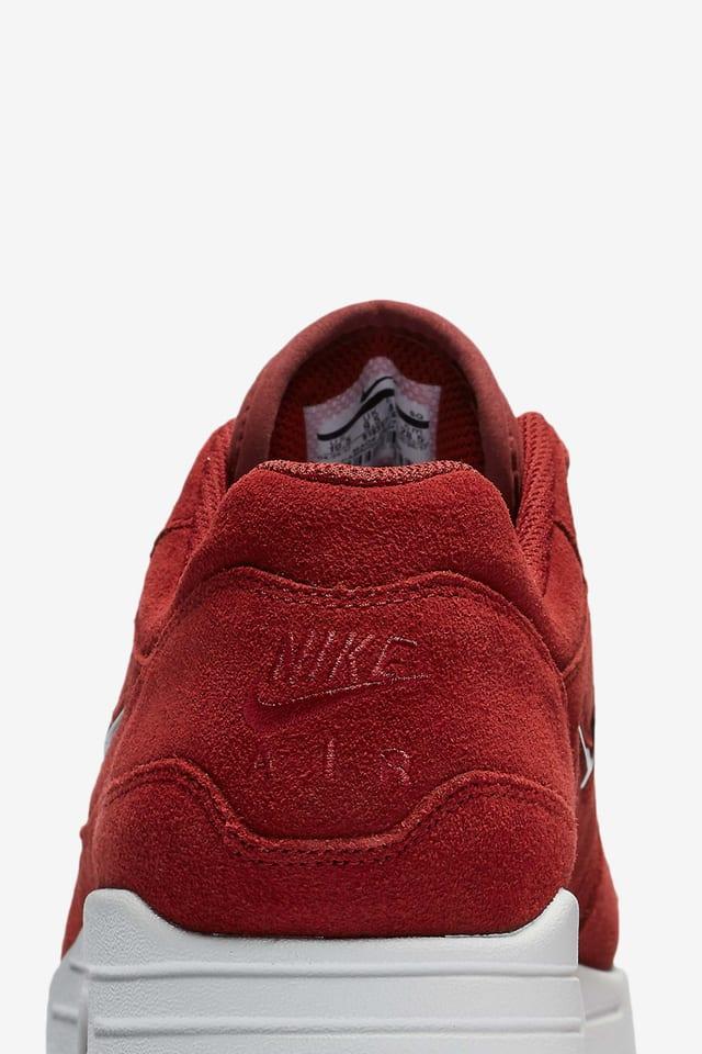 Nike Air Max 1 Premium 'Dark Red'. Nike