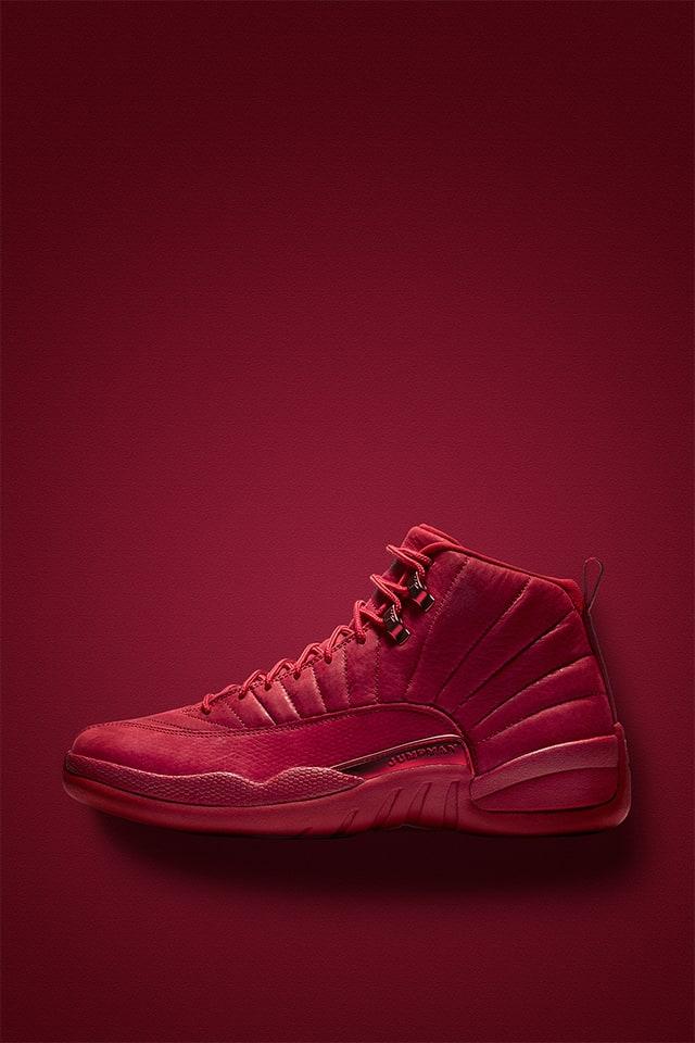 Air Jordan 12 Retro 'Gym Red \u0026 Black