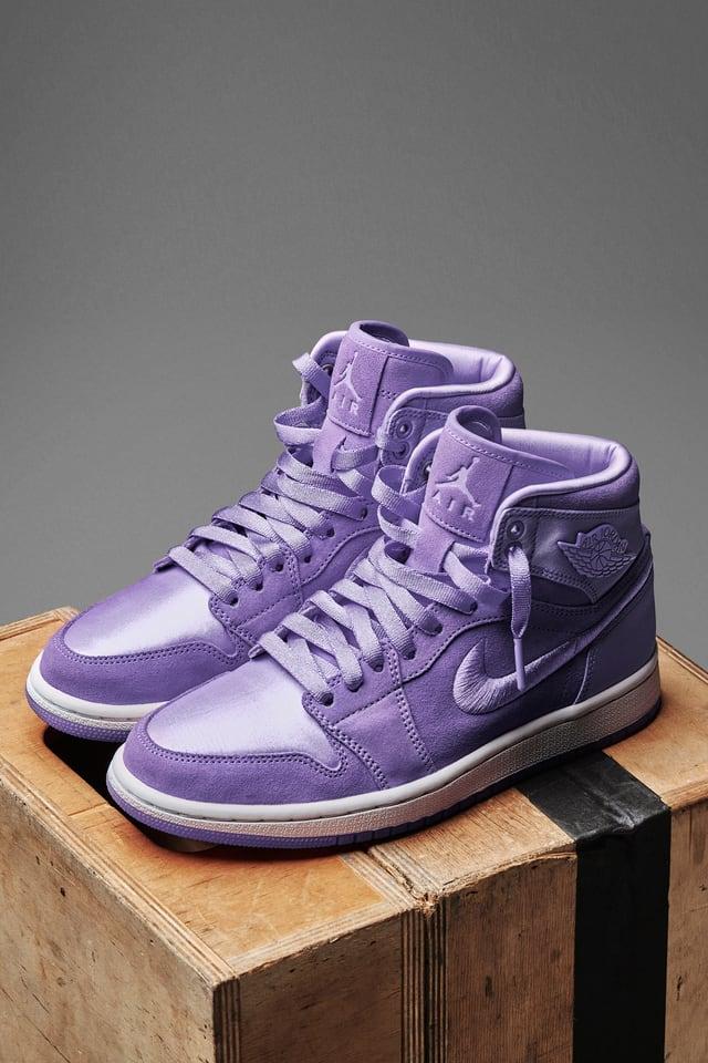 air jordan 1 violet femme