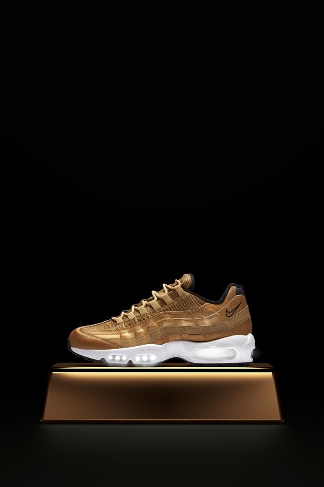 Date de sortie de la Nike Air Max 95 « Metallic Gold ». Nike