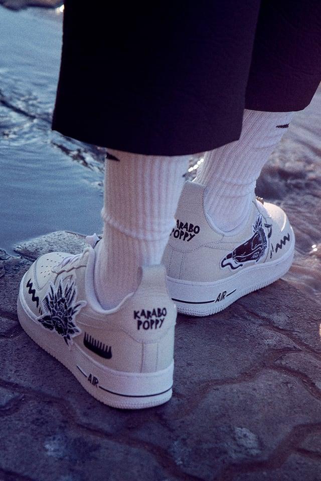 El extraño presentación difícil de complacer  AF1 'CANVAS OF THE PEOPLE 'Karabo By You' Release Date. Nike SNKRS
