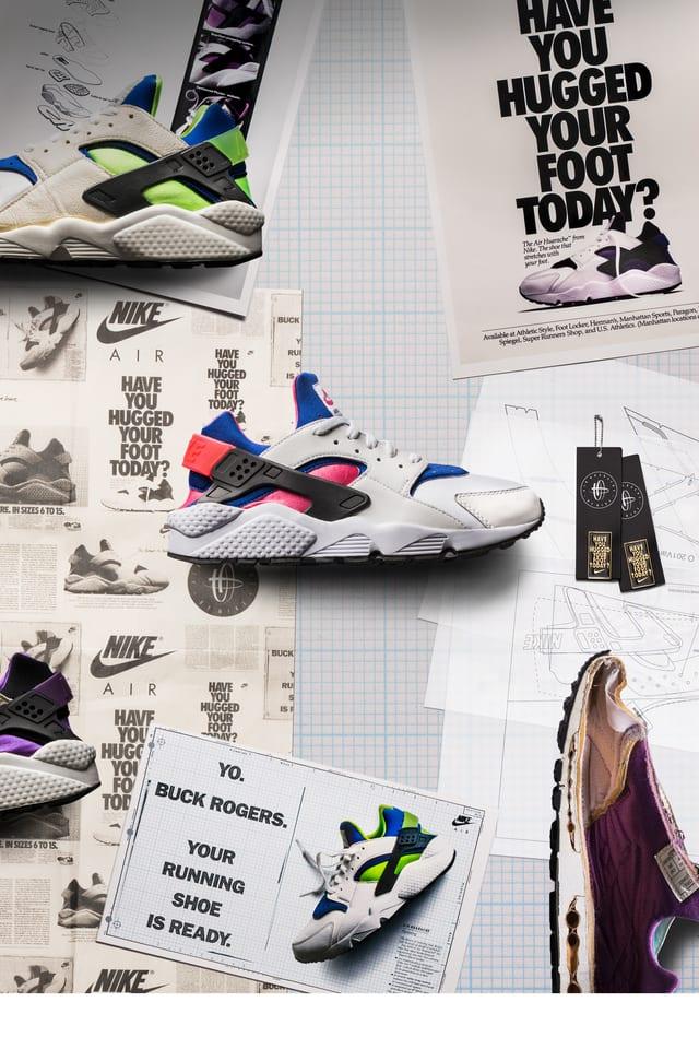 Behind The Design: Air Huarache. Nike SNKRS