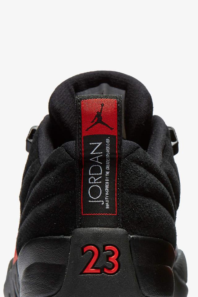 Sucediendo Permiso O  Air Jordan 12 Retro Low 'Black & Max Orange'. Nike SNKRS