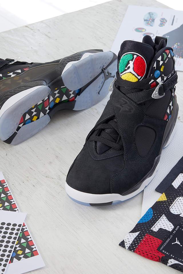 Air Jordan 8 'QUAI 54'. Nike SNKRS FI