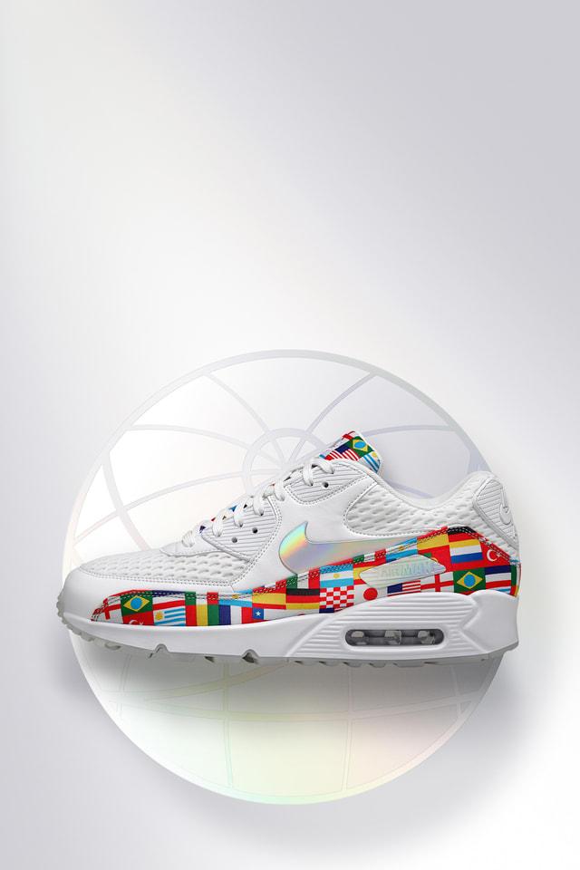 Nike Air Max 90 'White and Multicolor' — releasedatum. Nike