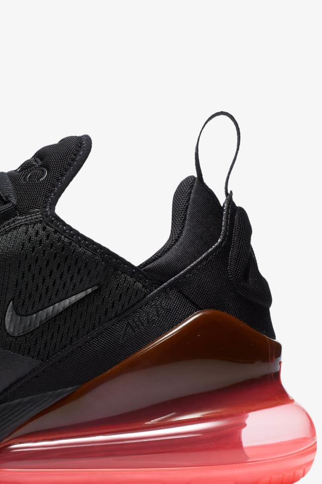 Lanseringsdatum för Nike Air Max 270 Black & Hot Punch