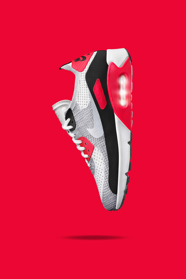 Nike Air Max 90 Ultra 2.0 Flyknit « White & Bright