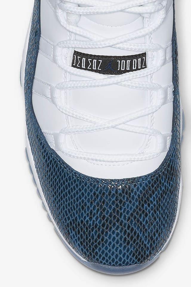 Lanceringsdato for Air Jordan 11 Retro Low Navy. Nike SNKRS DK
