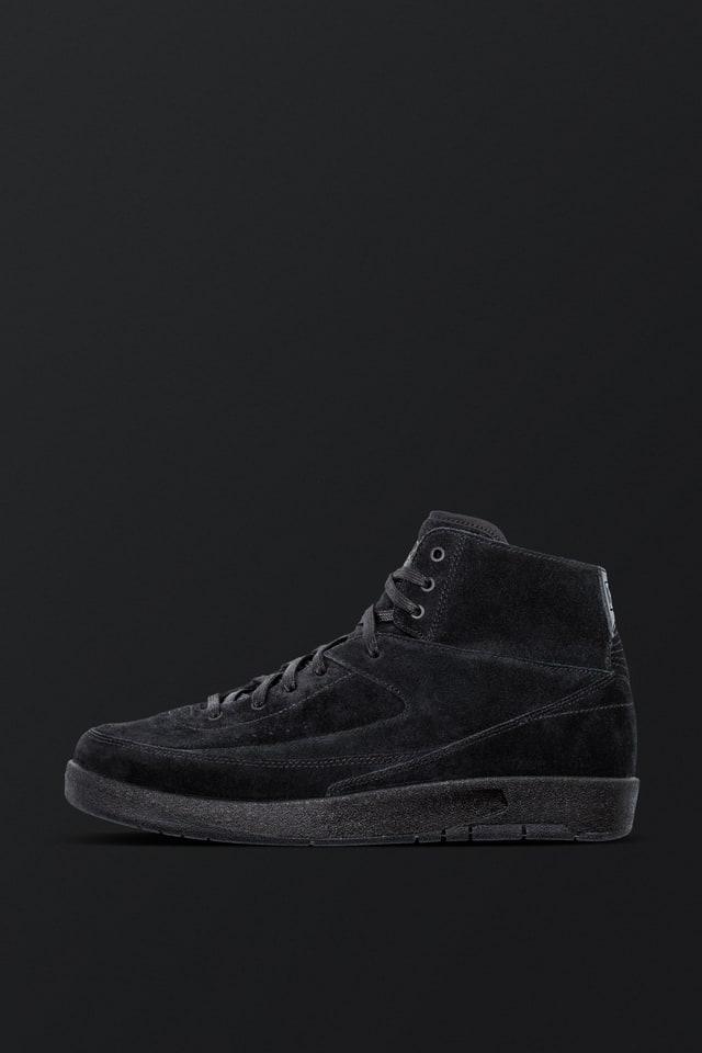Air Jordan 2 Retro Decon 'Triple Black