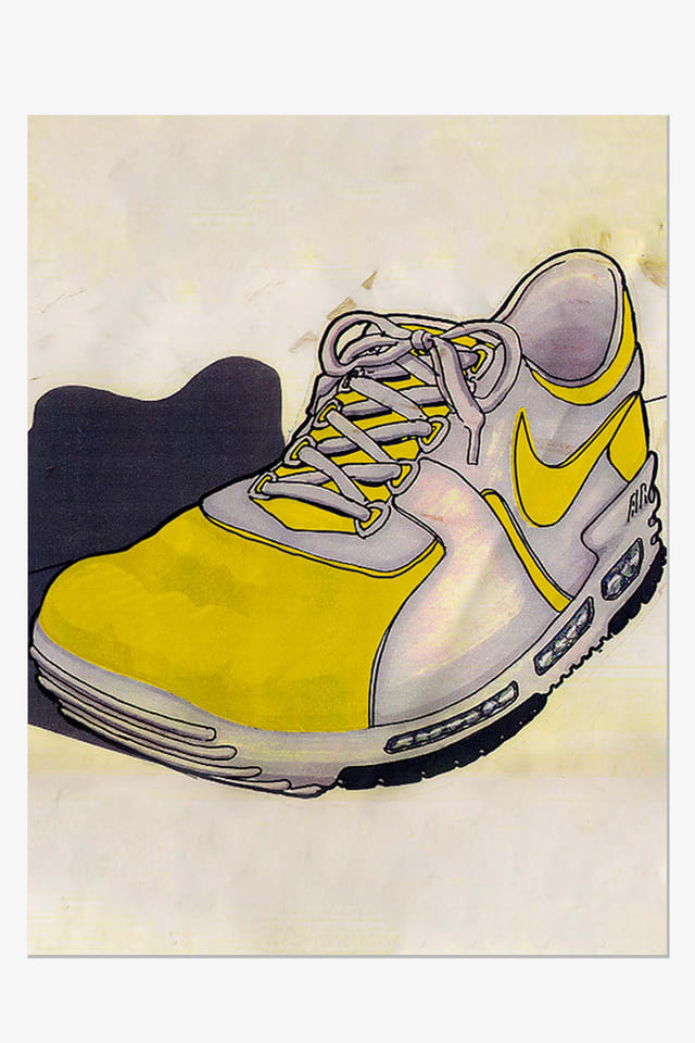 nike air max zero tinker sketch