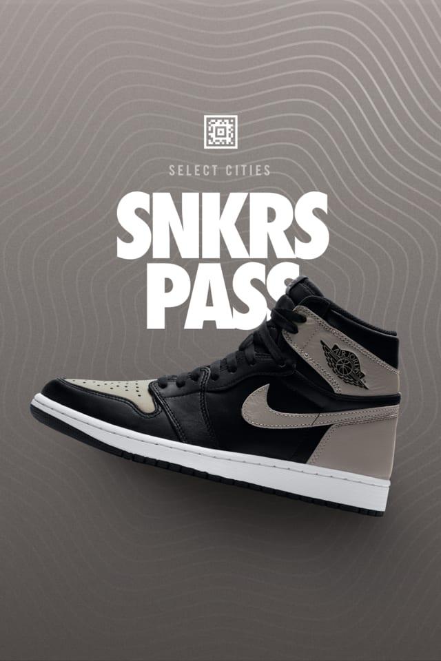 Air Jordan 1 'Shadow' SNKRS Pass NYC