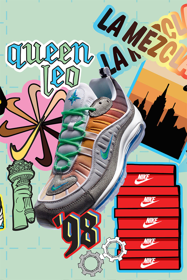 Air Max 98 On Air Nyc Release Date Nike Snkrs
