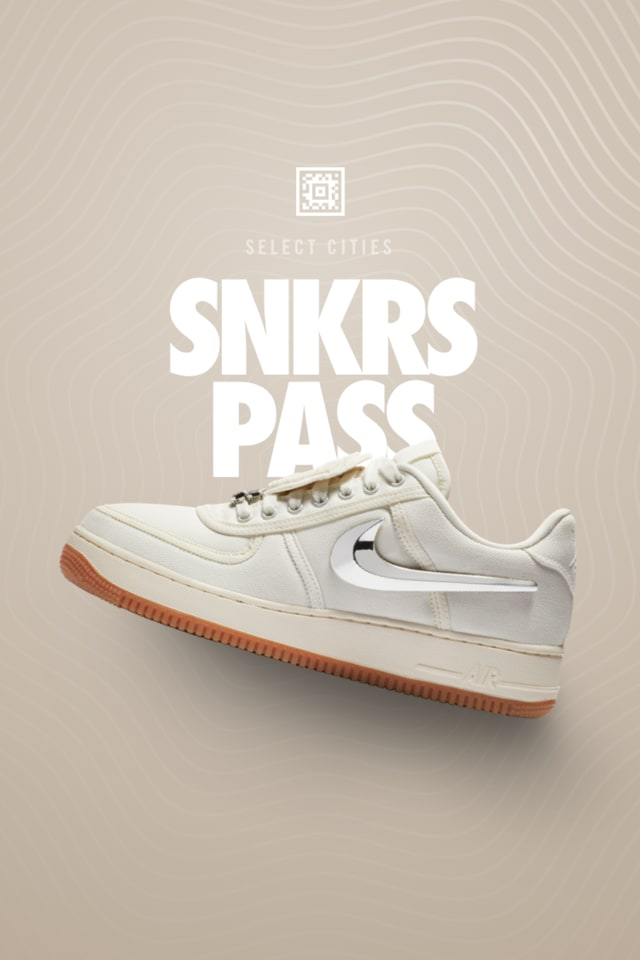 Nike Air Force 1 Low 'Travis Scott