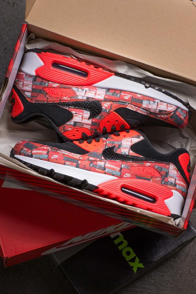 boîte chaussures nike