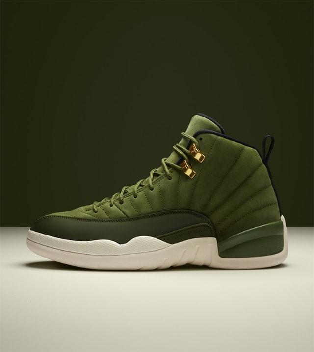 Air Jordan 12 Retro 'Olive Canvas \u0026amp