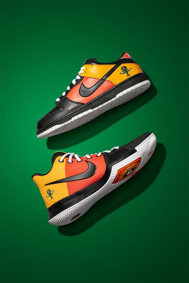 Kyrie X Nike SB. Nike SNKRS