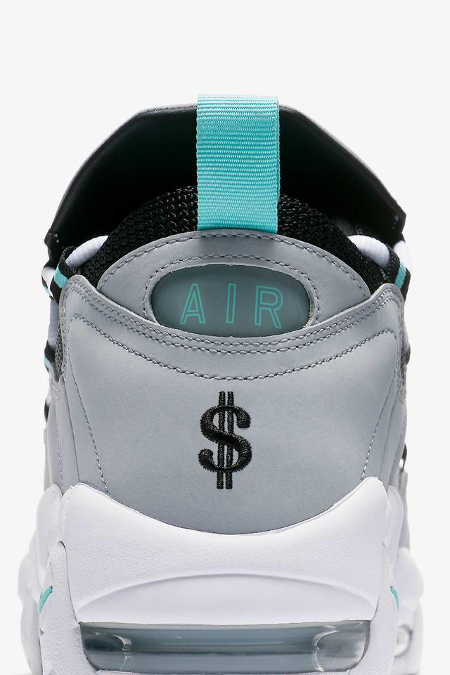 Nike Air More Money 'Wolf Grey \u0026 Island