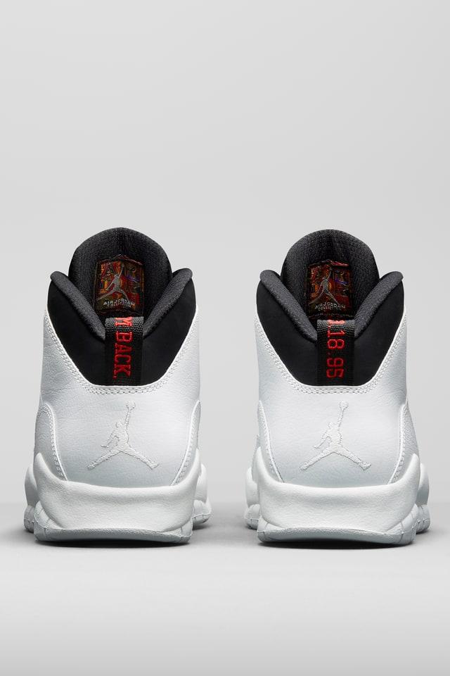 Air Jordan 10 Retro 'Summit White