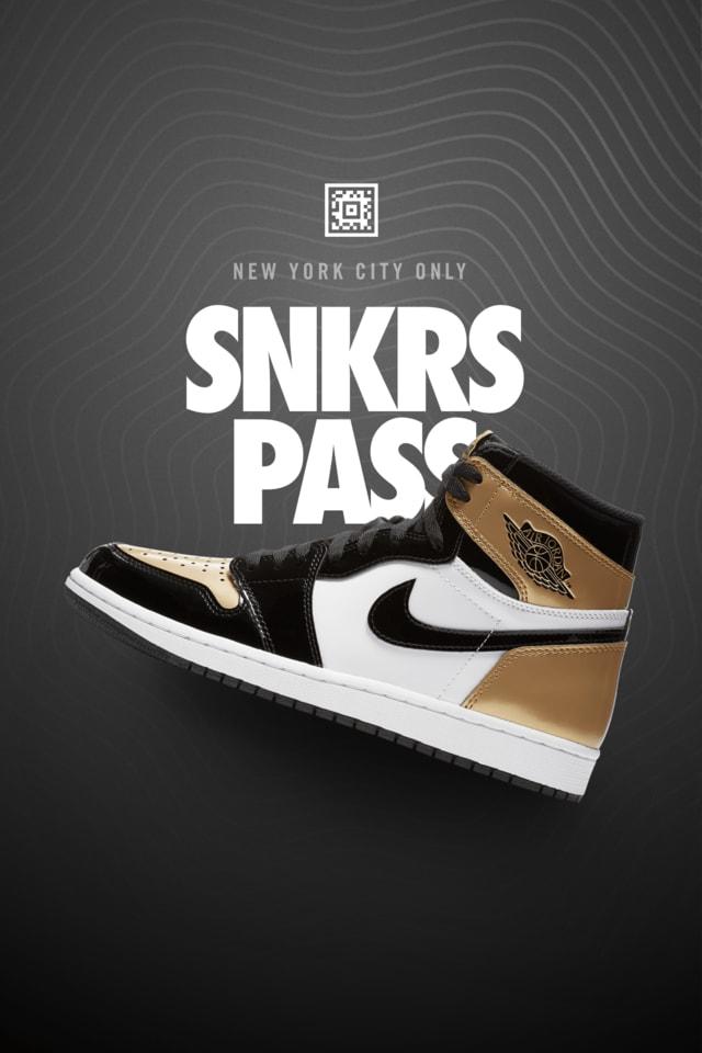Air Jordan 1 Retro 'NRG' SNKRS Pass NYC