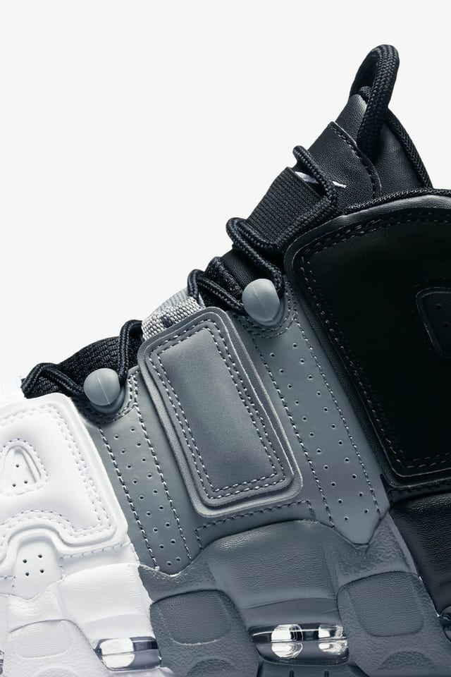 Nike Air More Uptempo '96 'Black & White & Cool Grey