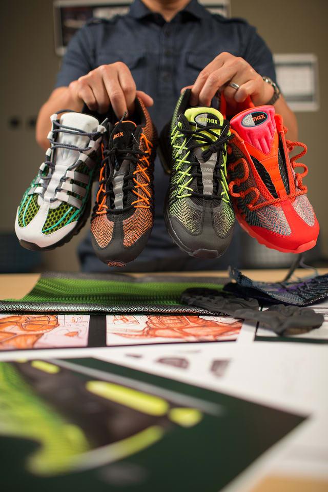 emulsión Penetración mezcla  Behind the Design: Nike Air Max 95 Ultra Jacquard. Nike SNKRS IE