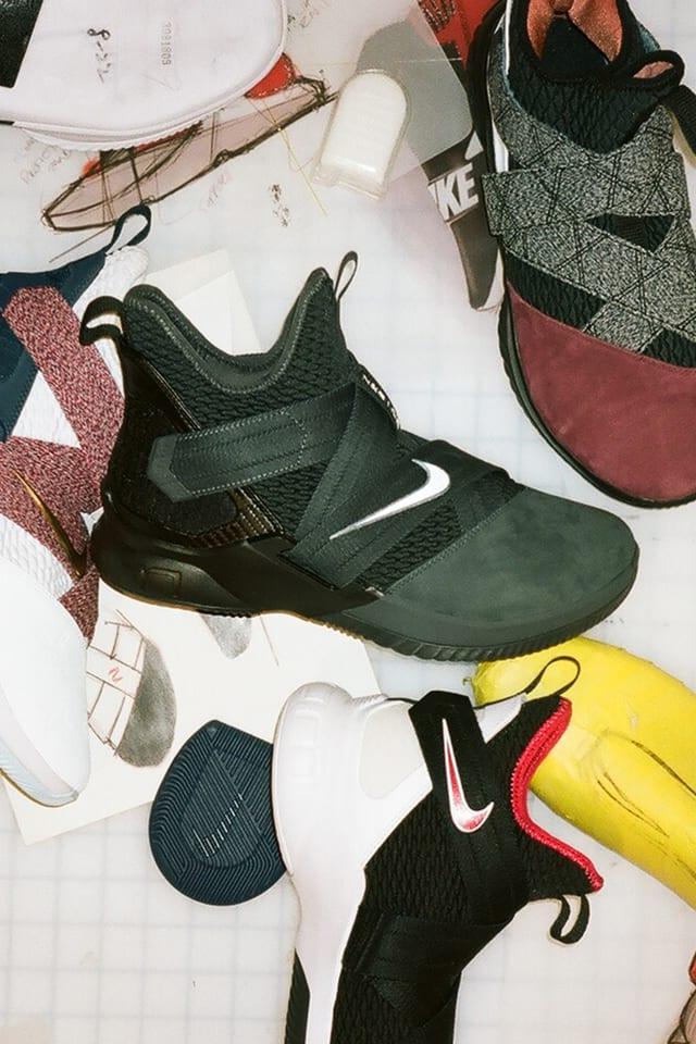 Lebron Soldier 12 'Dark 23'. Nike SNKRS