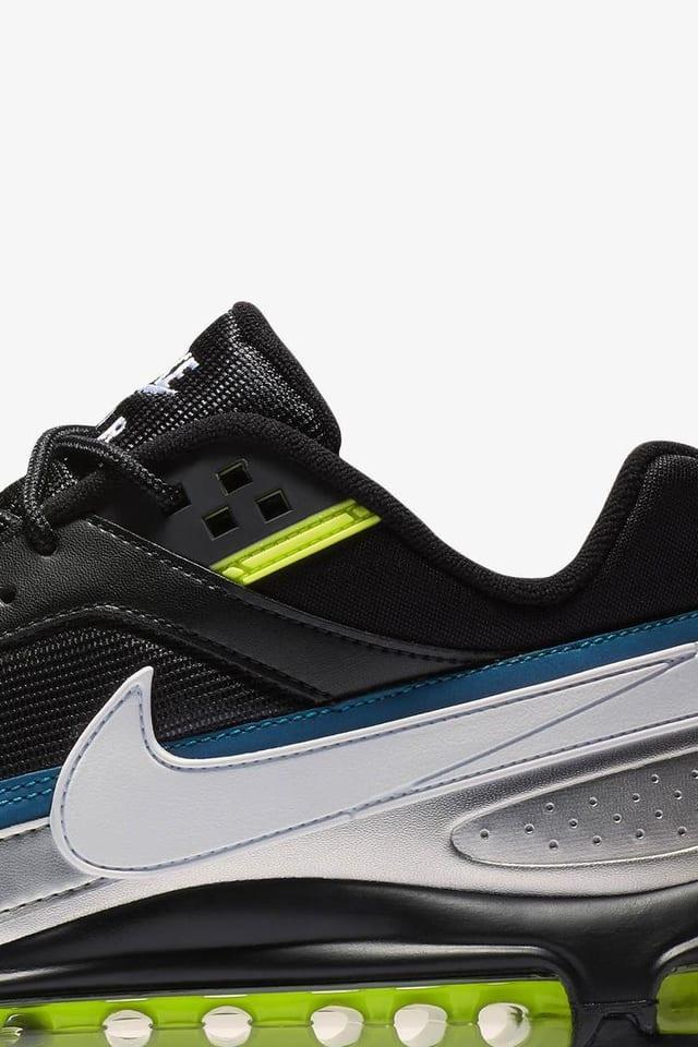 Nike Air Max 97 Bw Black Metallic Silver Atlantic Blue Release Date Nike Snkrs