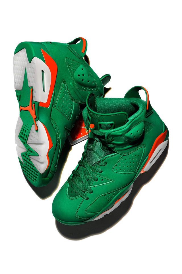 Air Jordan 6 Gatorade 'Pine Green