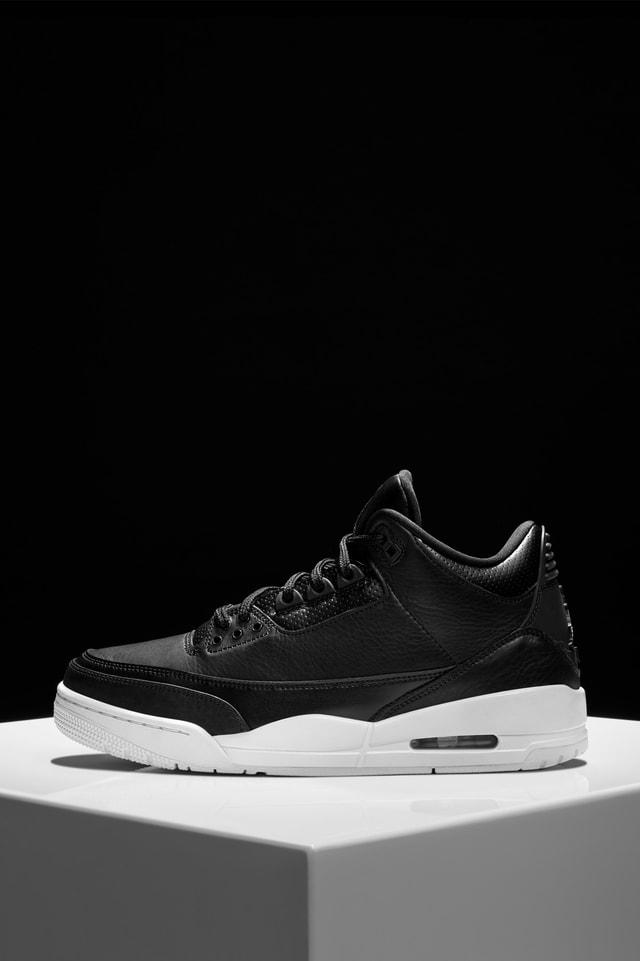 Air Jordan 3 Retro 'Black \u0026 White