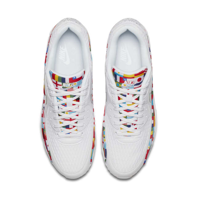 Nike Air Max 90 'White and Multicolor' — releasedatum. Nike