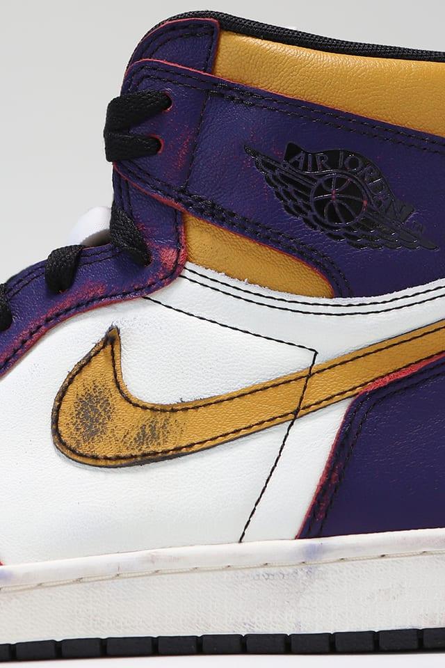 Air Jordan 1 'LA to Chicago'. Nike SNKRS IN