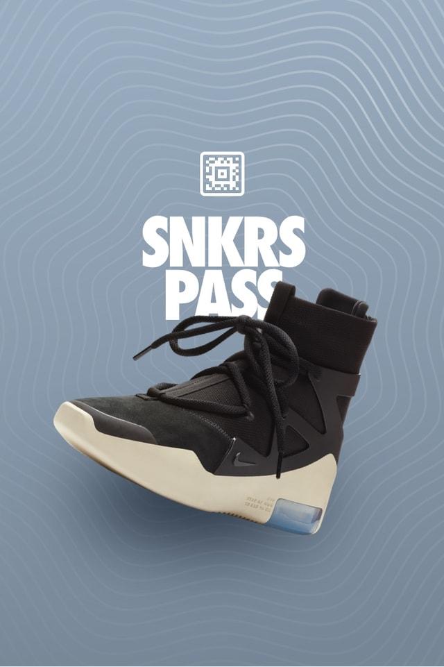 Black' SNKRS Pass Select Cities. Nike SNKRS