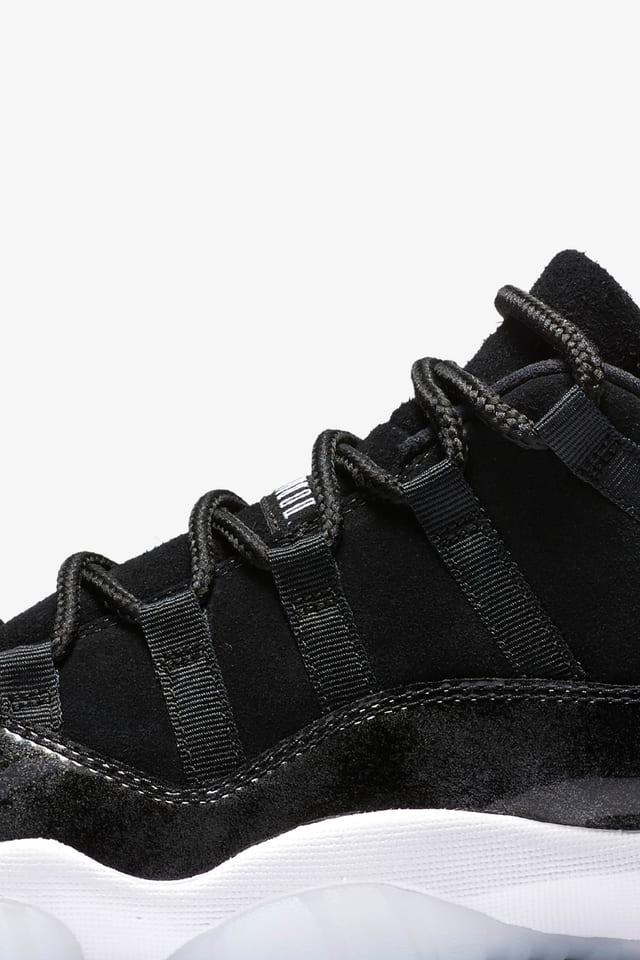 Air Jordan 11 Retro Low 'Black \u0026 White