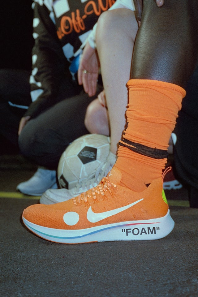 Lamer A veces a veces pavo  Nike Zoom Fly Mercurial Flyknit Off-White 'Total Orange & Volt & White'  Release Date. Nike SNKRS