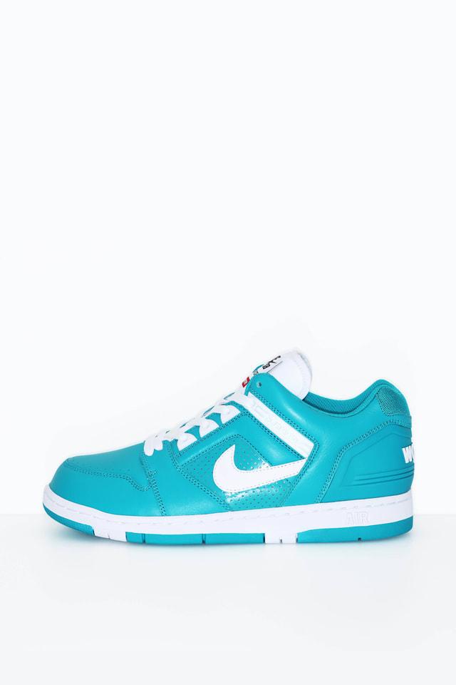 Nike SB AF2 Low Supreme 'New Emerald