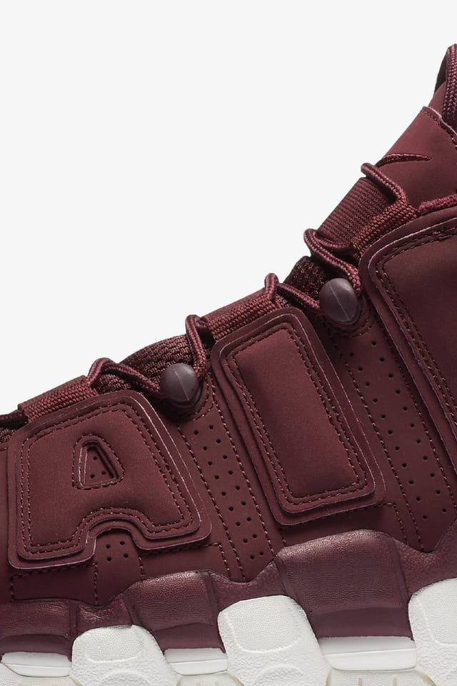 More Uptempo 'Night Maroon'. Nike SNKRS SG