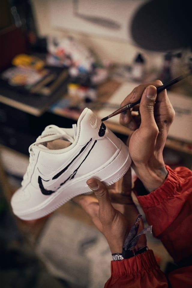 pintura zapatillas nike
