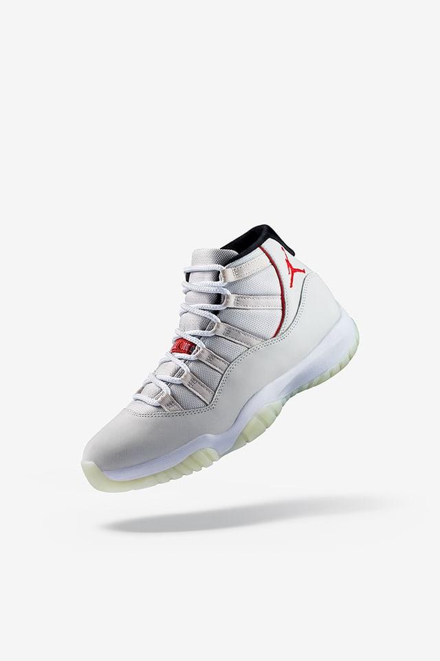 Air Jordan 11 'Platinum Tint' Release