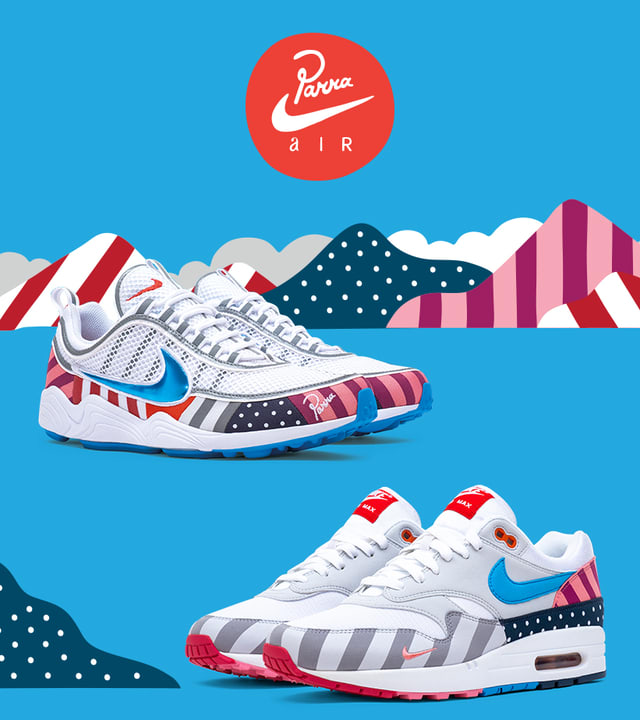 Nike X Parra Collection 2018 Release