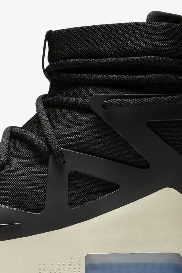 Nike Air Fear of God 1 'Black' — releasedatum. Nike SNKRS NL