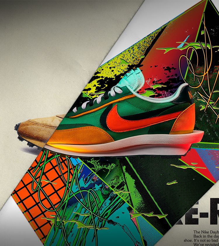 Nike LDWaffle Sacai 'Green Gusto & Varsity Maize & Safety Orange' 发布日期