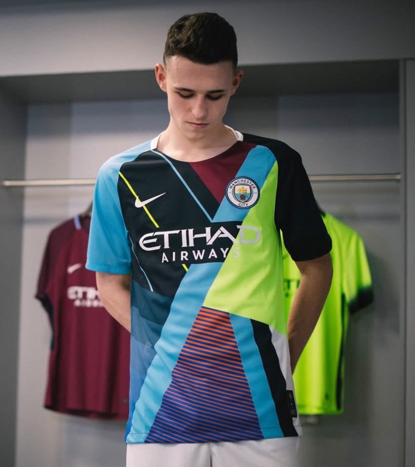 ca791a7eef9b Celebration Jersey. Nike x Manchester City