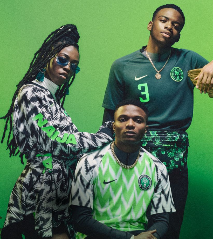 Luister naar de voetbalplaylist van Nigeria