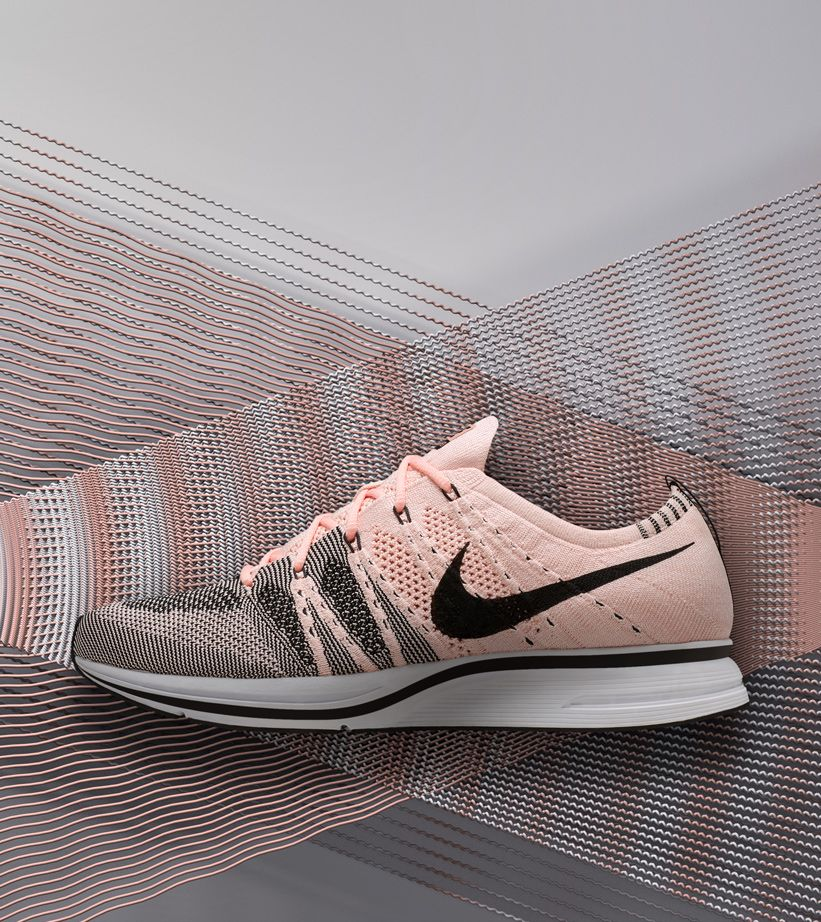 sunset tint flyknit trainer
