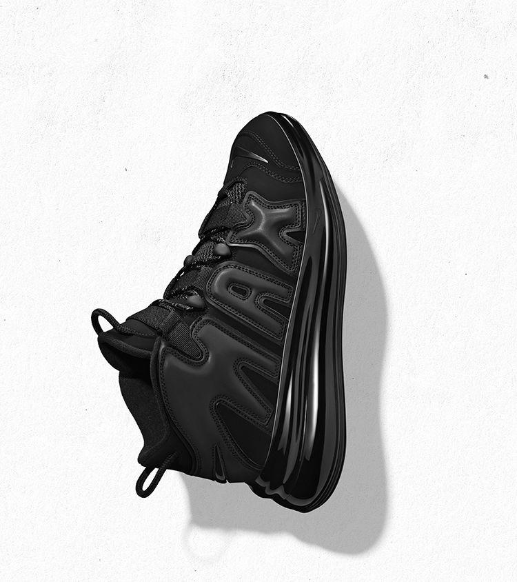 Nike Air More Uptempo 720 QS 1 'Black