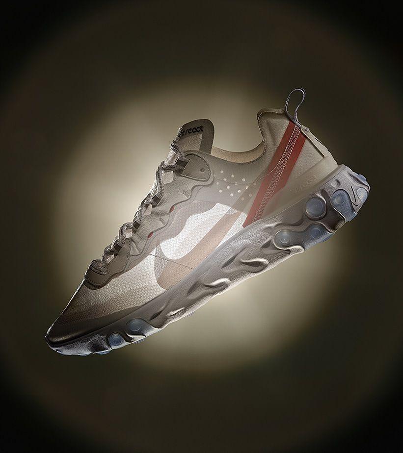 React Element 87. Nike SNKRS