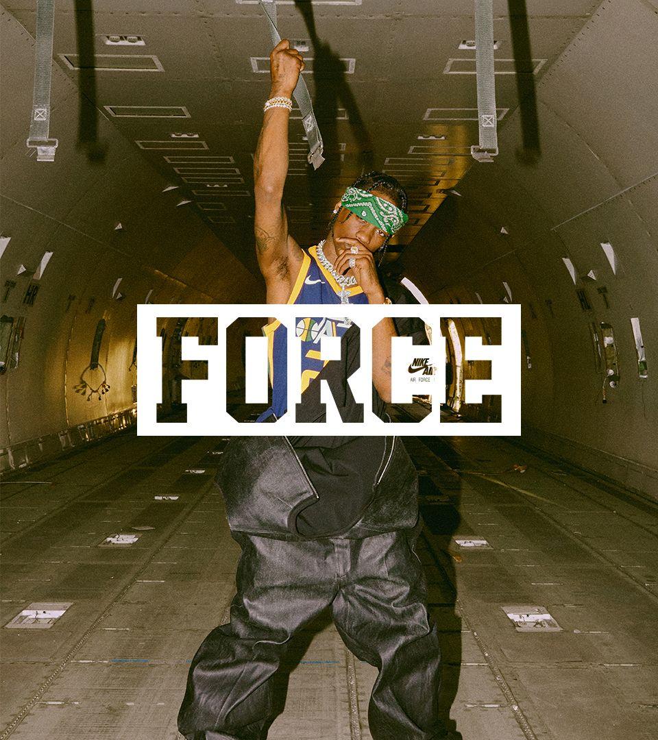 Behind The Design: Air Force 1 Travis Scott. Nike SNEAKRS GB