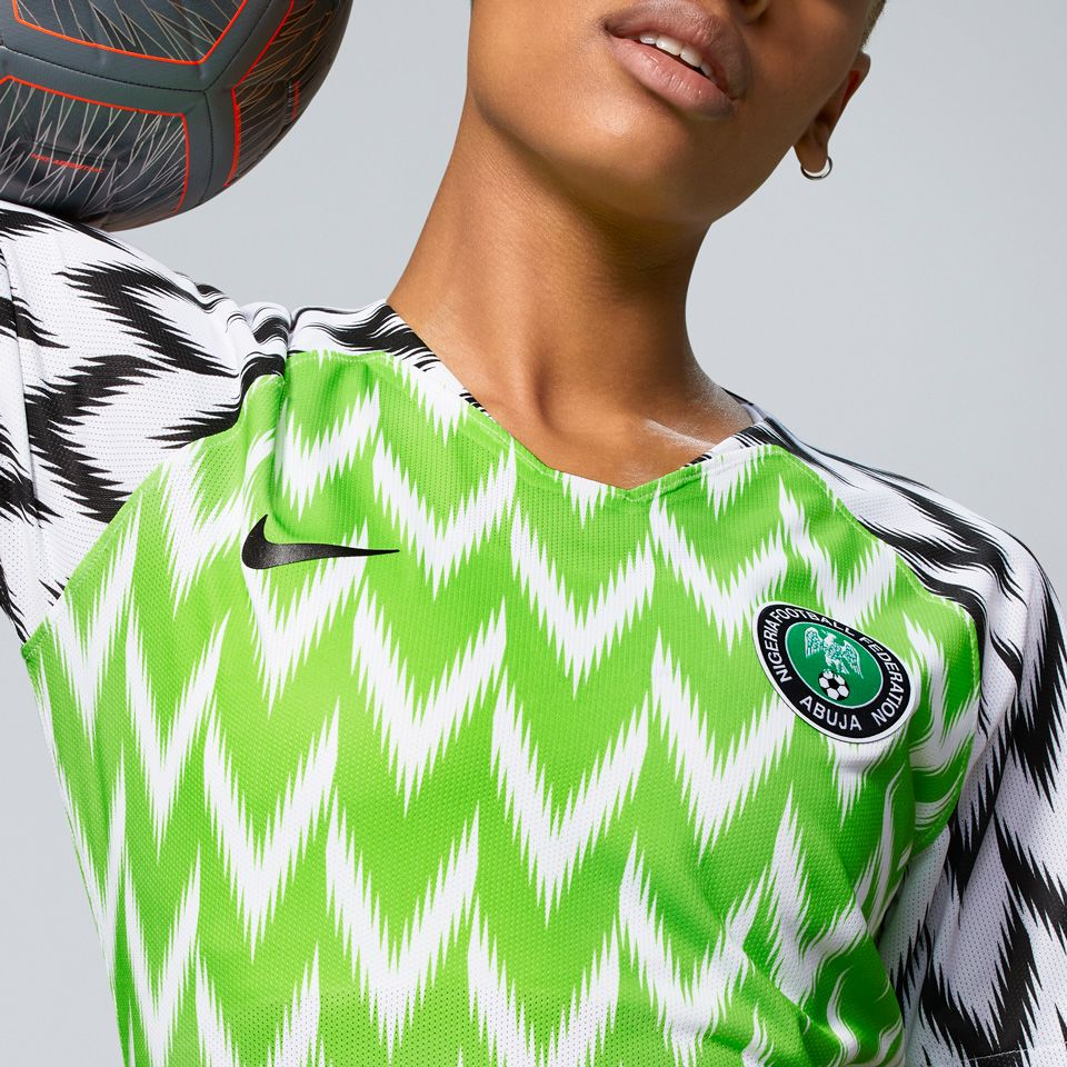 Nigeria Women's Football Federation 2019 Stadium Home Jersey