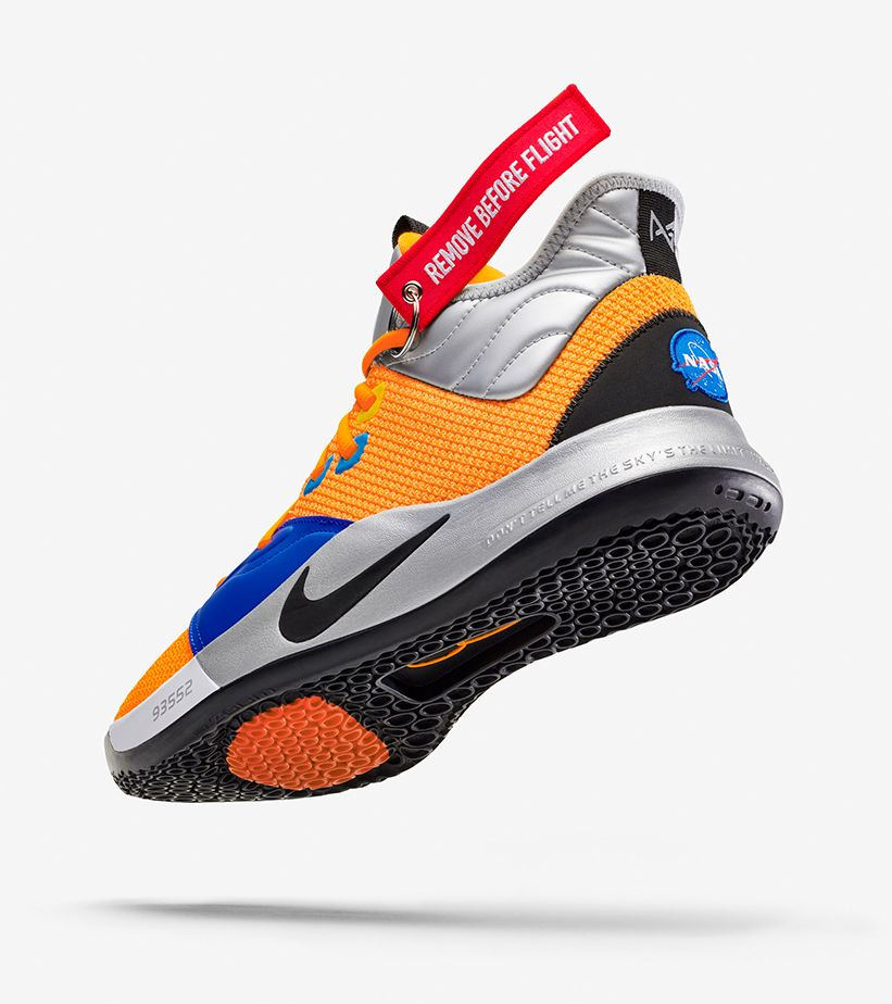 Nike PG 3 NASA 'Total Orange' Release Date