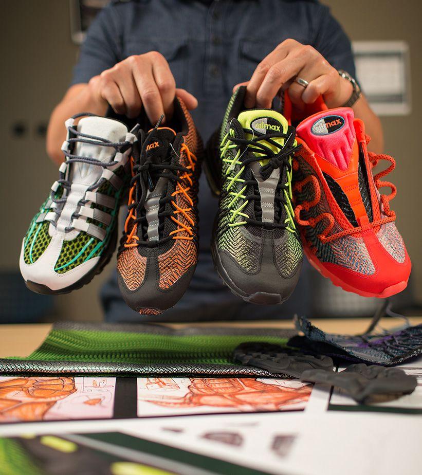 Florecer Artesano apaciguar  Behind the Design: Nike Air Max 95 Ultra Jacquard. Nike SNKRS
